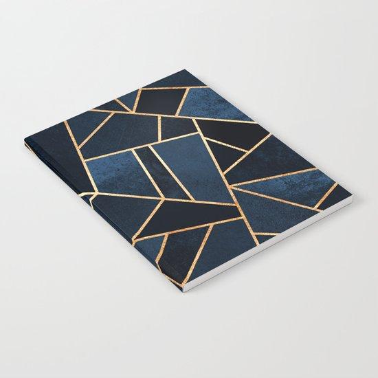 Navy Stone Notebook