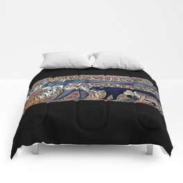 Big cats of Costa Rica Comforters