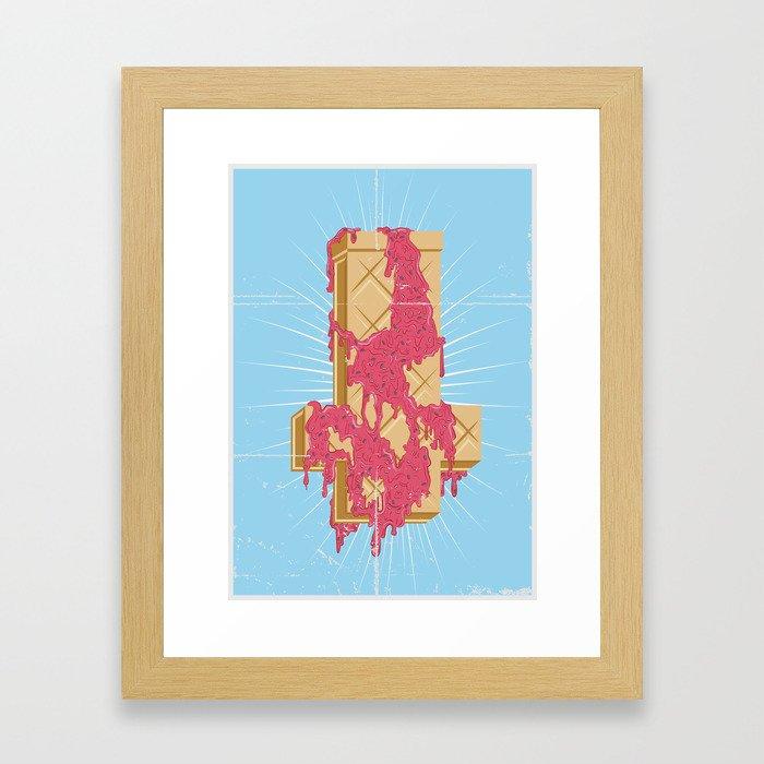 Creamfixo Framed Art Print