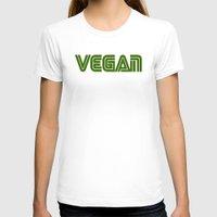 vegan T-shirts featuring Vegan #1 by Jeremy Jon Myers