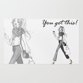 You Got This - Blogger Lady Rug