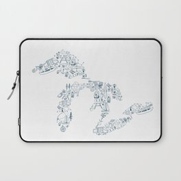 Great Lakes Up North Collage Laptop Sleeve