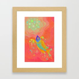 The sunshine Framed Art Print