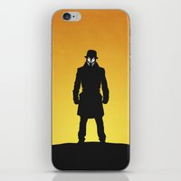 watchmen iPhone & iPod Skins featuring Watchmen by Nick Kemp