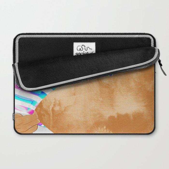 Freestyle #painting #illustration Laptop Sleeve
