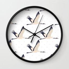 ElegantManchurian-pink Wall Clock