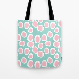 Hayden - abstract trendy gender neutral colorful bright happy dorm college decor pattern print art Tote Bag
