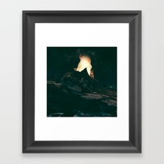 Voragine Framed Art Print