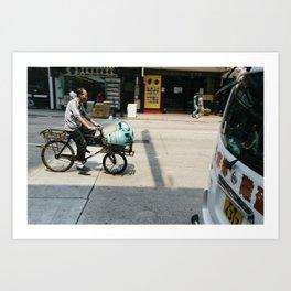 Precarious Transport Art Print