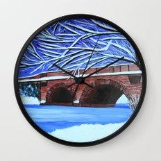 Stone bridge 2 Wall Clock