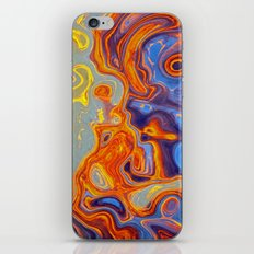 STORM CENTRES iPhone & iPod Skin