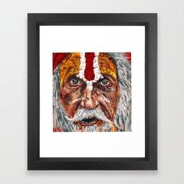 Sadhu Framed Art Print