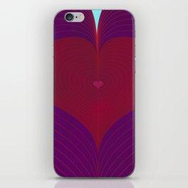 I Heart Lines iPhone Skin