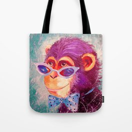 The monkey is a gentleman Tote Bag