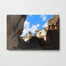 Among the rubble - Antigua Guatemala Metal Print