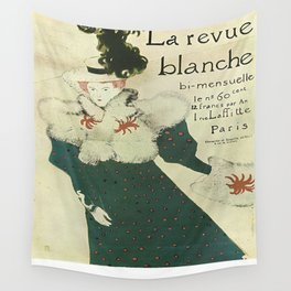 Vintage poster - La Revue Blanche Wall Tapestry
