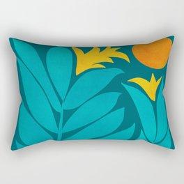 Wild Garden / Whimsical Botanical Series Rectangular Pillow