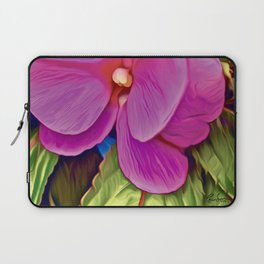 Pink Petals Laptop Sleeve