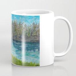 Bigfoot at the Lake Coffee Mug