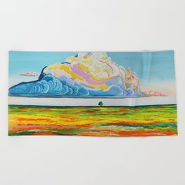 Nature of Color Beach Towel
