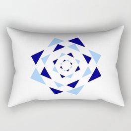 Star of David 36- Jerusalem -יְרוּשָׁלַיִם,israel,hebrew,judaism,jew,david,magen david Rectangular Pillow