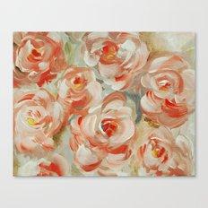 Shabby Flowers Canvas Print