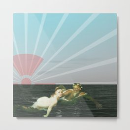 atmosphere 33 · Fukushima mon amour Metal Print