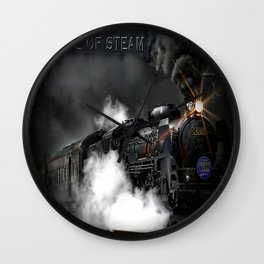 The Age of Steam Wall Clock