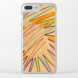Streaking Clear iPhone Case