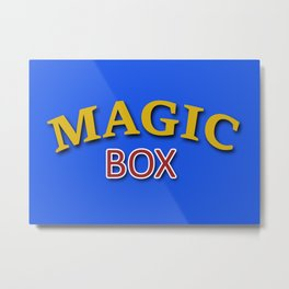 The Magic Box Metal Print