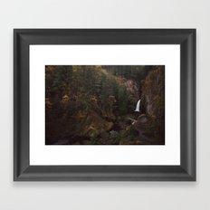 Wahclella Falls Framed Art Print