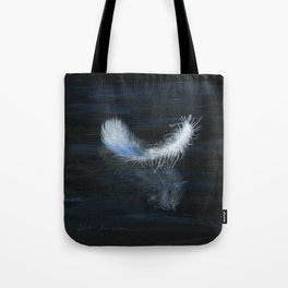 Angel Feather by Teresa Thompson Tote Bag