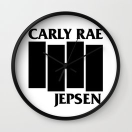 CRJ Flag Wall Clock