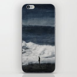 Wave Distortions - Abstract Seascape iPhone Skin