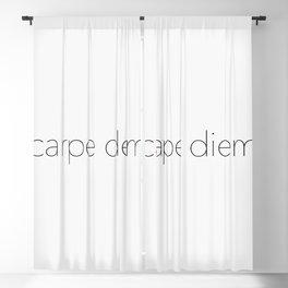 Carpe Diem Blackout Curtain
