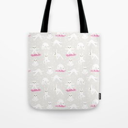 Yoga Cats Tote Bag