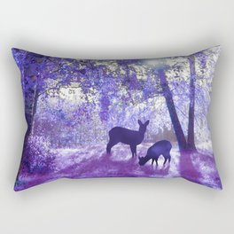 Deer In Another Light Rectangular Pillow