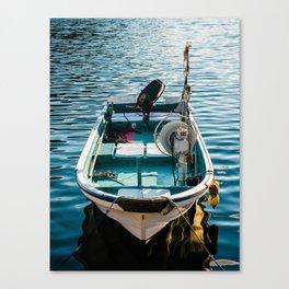 Ready to drift away Canvas Print