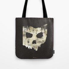 Ohio Skull Tote Bag