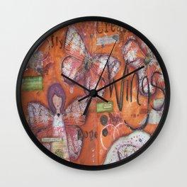 Creative Wings Wall Clock