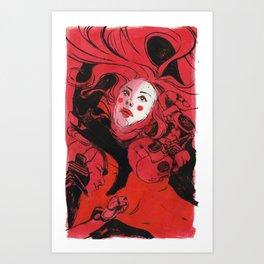 Discarded Art Print