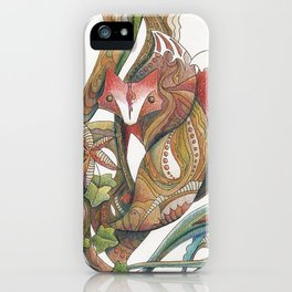 Essence of the fox iPhone Case