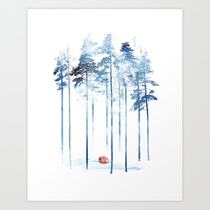 Discover the motif SLEEPING IN THE WOODS by Robert Farkas as a print at TOPPOSTER