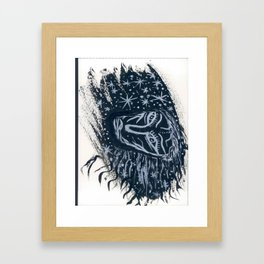 Dans les étoiles... Framed Art Print
