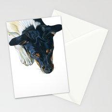 Swedish farm dog Stationery Cards