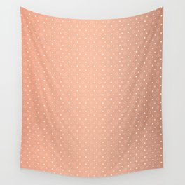 Art Deco, Simple Shapes Pattern 1 [ROSE GOLD] Wall Tapestry