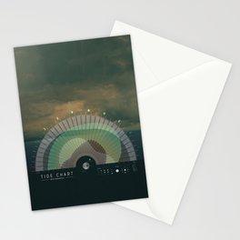 RWC Tide Chart Stationery Cards