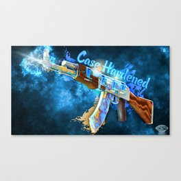 Machine Gun 8  Canvas Print