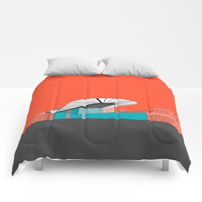 Turquoise Island Comforters