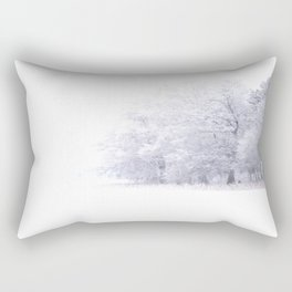 White Forest Rectangular Pillow